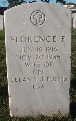 Florence Elizabeth <i>Nightingale</i> Fuchs