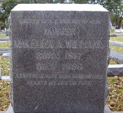 Eliza Ann <i>Grant</i> Williams