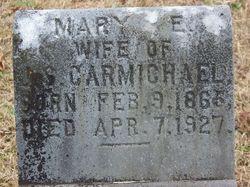 Mary E <i>Hopkins</i> Carmichael