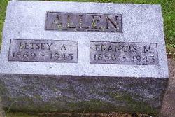 Betsey A <i>Baker</i> Allen