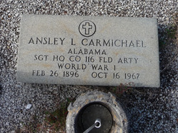 Sgt Ansley Lafayette Carmichael