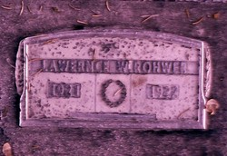 Lawrence W Rohwer