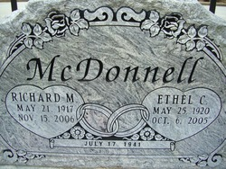 Richard M McDonnell