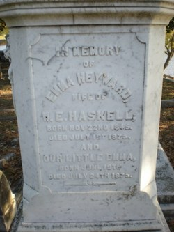Emma Barnwell <i>Heyward</i> Haskell