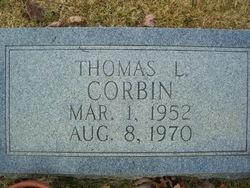 Thomas L Corbin