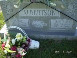 Helen Ellavenia Sissy <i>Gribbins</i> Albertson
