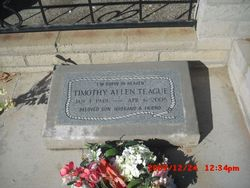 Timothy Allen Teague