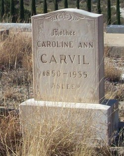 Caroline Ann <i>McKenzie</i> Carvil