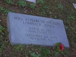 Irma Elisabeth <i>wieters</i> Lominack-Jones