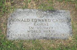 Donald Edward Cassaw