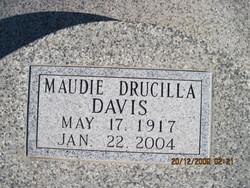 Maudie Drucilla <i>Saunders</i> Davis