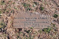 Melvin Malcom Canoy