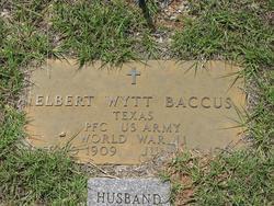 Elbert Wyatt Ber Baccus
