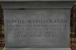 Burwell (Burrell) Blanton
