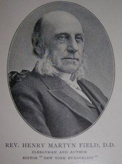 Rev Henry Martyn Field