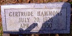 Gertrude Hammons