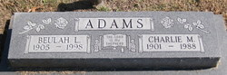 Beulah L <i>Kisner</i> Adams