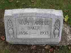 Mary <i>Farrell</i> Baker
