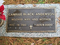 Camilla V Cam <i>Black</i> Anderson