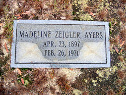 Madeline <i>Zeigler</i> Ayers