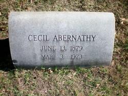 Cecil Abernathy