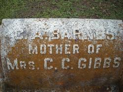 Caroline Alice Carrie <i>Greene</i> Barnes