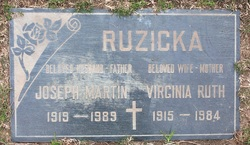 Mrs Virginia Ruth <i>Pritchard</i> Ruzicka