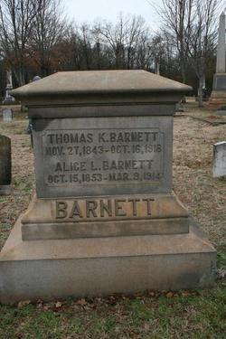 Alice <i>Lovelace</i> Barnett