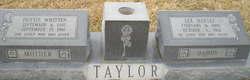 Dottie Ester <i>Whitten</i> Taylor