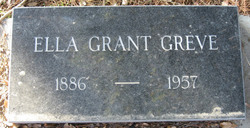 Ella May <i>Grant</i> Greve