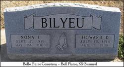 Howard D Bilyeu