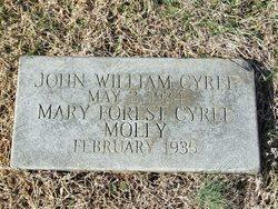 Mary Forest Molly <i>Glascoe</i> Cyree