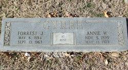 Annie E <i>Williams</i> Cyree