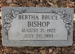 Bertha <i>Bruce</i> Bishop
