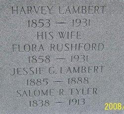Flora <i>Rushford</i> Lambert