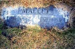 Mildred Marie <i>Schaaf</i> Mallet