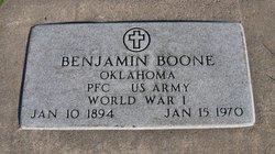 PFC Benjamin Boone
