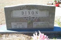 Alice <i>Cameron</i> Dixon