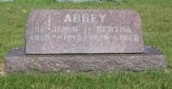 Bertha <i>Meeker</i> Abbey