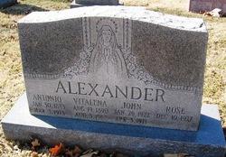 Antonio Alexander