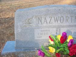 Nancy Carolina Callie <i>Cox</i> Nazworth
