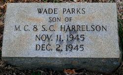 Wade Parks Harrelson