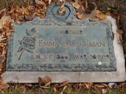 Emma Lavenia <i>Hawkins</i> Carrigan