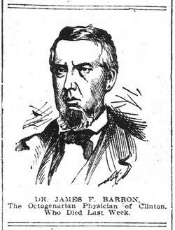 Dr James Finney Barron