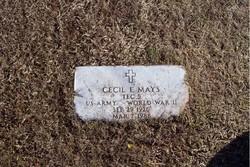 Cecil Earl Mays
