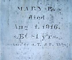 Mary E. Abbot