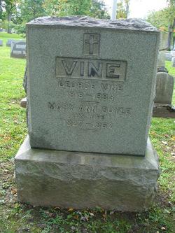 Mary Ann <i>Doyle</i> Vine
