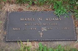 Mabel Nathalia <i>Thorson</i> Adams