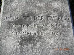Julia <i>Felder</i> Everett