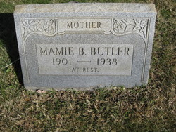 Mamie Blanche <i>Comer</i> Butler